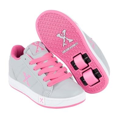 Sidewalk Sport Lane Wheeled Skate Shoes pentru fete roz