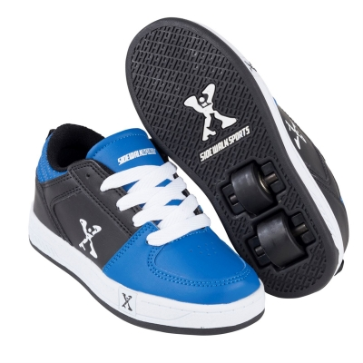 Adidasi cu role Sidewalk Sport Street pentru copii albastru