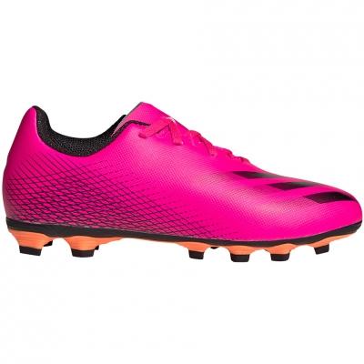 Adidasi de fotbal Adidas X Ghosted.4 FxG roz FW6932 copii