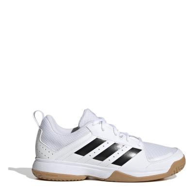 Adidasi de squash adidas Ligra 7 pentru Copii alb negru