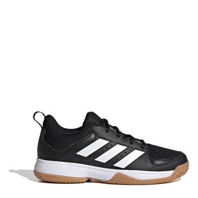 Adidasi de squash adidas Ligra 7 pentru Copii negru alb