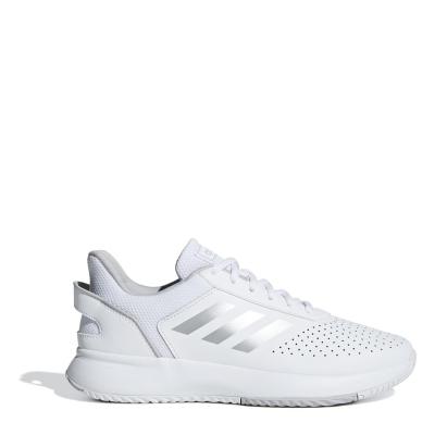 Adidasi de Tenis adidas Courtsmash pentru femei alb argintiu