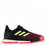 Adidasi de Tenis adidas SoleCourt Boost pentru Femei negru rosu