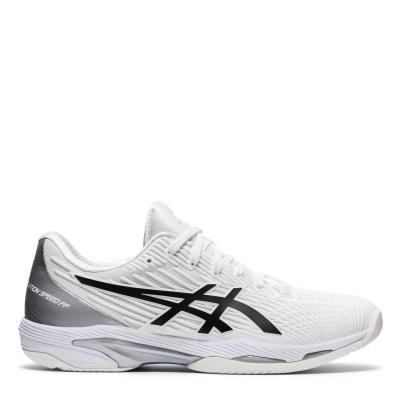 Adidasi de Tenis Asics Solution alb negru