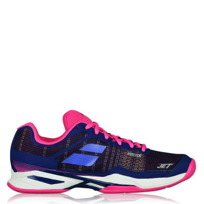 Adidasi de Tenis Babolat Jet Mach I zgura pentru Femei estate albastru