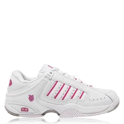 Adidasi de Tenis K Swiss Defier RS pentru Femei alb roz inchis