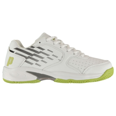 Adidasi de Tenis Prince Reflex Juniors alb galben