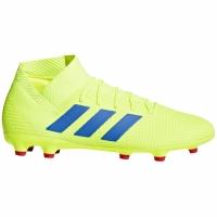 Adidasi fotbal Adidas Nemeziz 183 FG galben-albastru BB9438 barbati