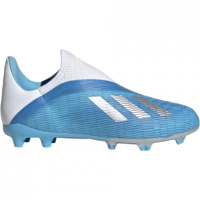 Adidasi fotbal Adidas X 193 LL FG albastru EF9114 pentru copii pentru femei