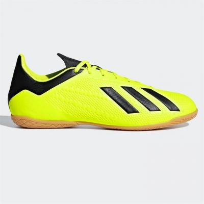 Adidasi fotbal de sala adidas X Tango 18.4 pentru Barbati galben negru