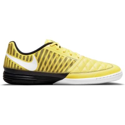 Adidasi fotbal de sala Nike Lunargato galben negru
