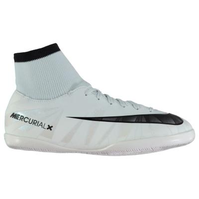 Adidasi fotbal de sala Nike MercurialX Victory CR7 DF pentru copii albastru negru