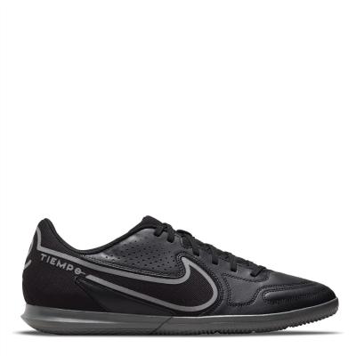 Adidasi fotbal de sala Nike Tiempo Legend Club negru irongrey
