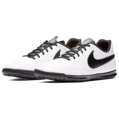 Adidasi fotbal de sala Nike Majestry alb negru