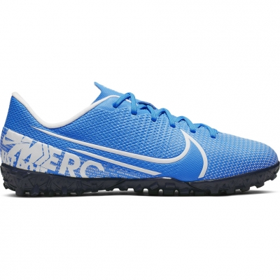 Adidasi fotbal Nike Mercurial Vapor 13 Academy gazon sintetic AT8145 414 pentru copii pentru barbati