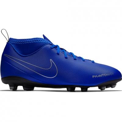 Adidasi fotbal Nike Phantom VSN Club DF FG MG AO3288 400 copii
