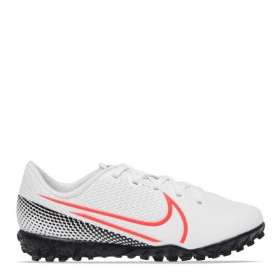 Adidasi Fotbal Nike Vapor 13 gazon sintetic Juniors alb rosu