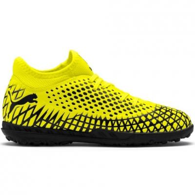 Adidasi fotbal Puma Future 44 TT galben-negru 105699 03 pentru copii