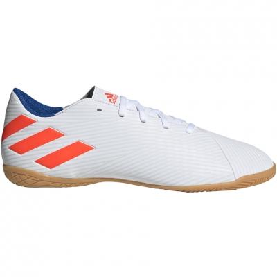 Adidasi fotbal sala Adidas Nemeziz Messi 194 IN alb And rosu F34550