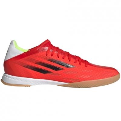 Adidasi fotbal sala Adidas X Speedflow.3 IN rosu FY3300