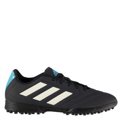 Adidasi Gazon Sintetic adidas Goletto pentru copii albastru alb