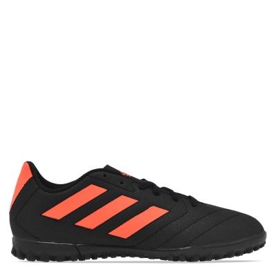 Adidasi Gazon Sintetic adidas Goletto pentru copii negru rosu