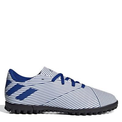 Adidasi Gazon Sintetic adidas Nemeziz 19.4 pentru copii alb teamroyal