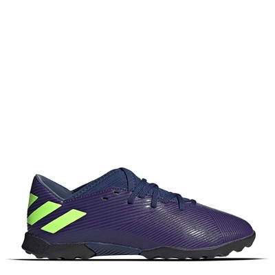 Adidasi Gazon Sintetic adidas Nemeziz Messi 19.3 pentru Copii albastru verde