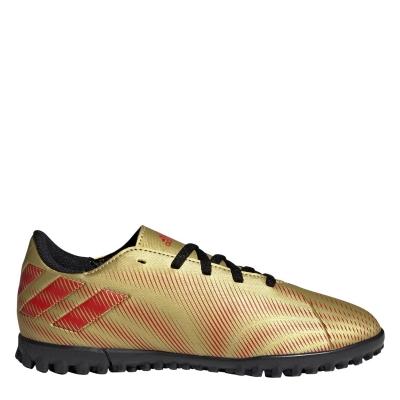 Adidasi Gazon Sintetic adidas Nemeziz Messi .4 pentru Copii goldmet rosu
