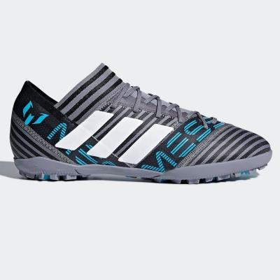 Adidasi Gazon Sintetic adidas Nemeziz Messi Tango 17.3 pentru Barbati gri alb negru