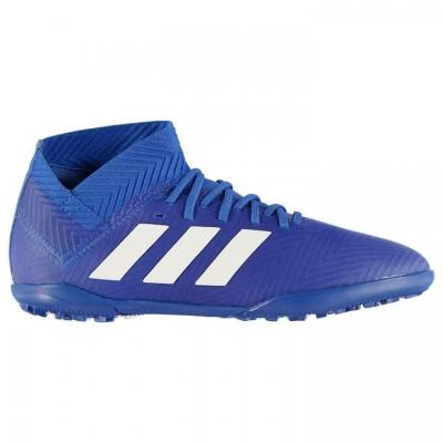 Adidasi Gazon Sintetic adidas Nemeziz Tango 18.3 pentru Copii albastru alb