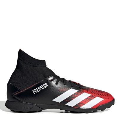 Adidasi Gazon Sintetic adidas Predator 20.3 pentru Copii negru alb rosu