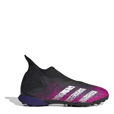 Adidasi Gazon Sintetic adidas Predator Freak .3 Laceless pentru Copii negru roz