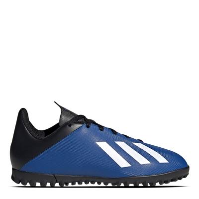 Adidasi Gazon Sintetic adidas X 19.4 pentru copii teamroyal alb