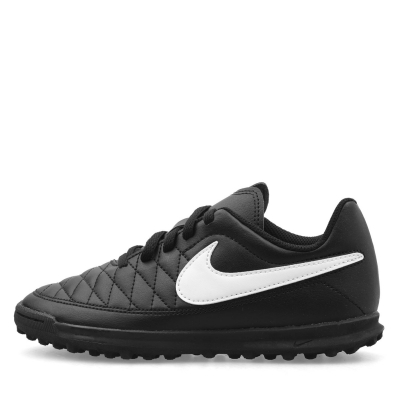 Adidasi Gazon Sintetic Adidasi Fotbal Nike Majestry Astro pentru copii negru alb