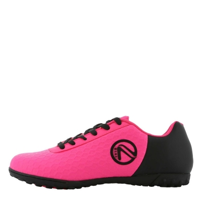 Adidasi Gazon Sintetic Adidasi Fotbal ONeills Python Astro pentru fetite roz negru