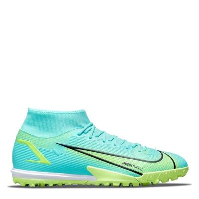 Adidasi Gazon Sintetic Nike Mercurial Superfly Academy DF dynamic turcoaz