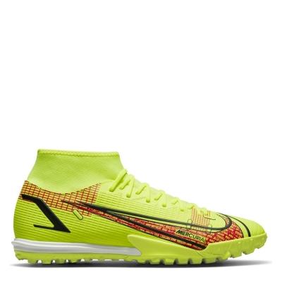 Adidasi Gazon Sintetic Nike Mercurial Superfly Academy DF galben rosu inchis