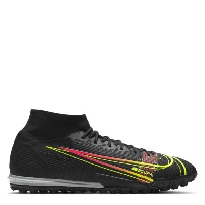 Adidasi Gazon Sintetic Nike Mercurial Superfly Academy DF negru verde off