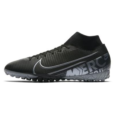 Adidasi Gazon Sintetic Nike Mercurial Superfly Academy DF pentru Barbati negru gri inchis
