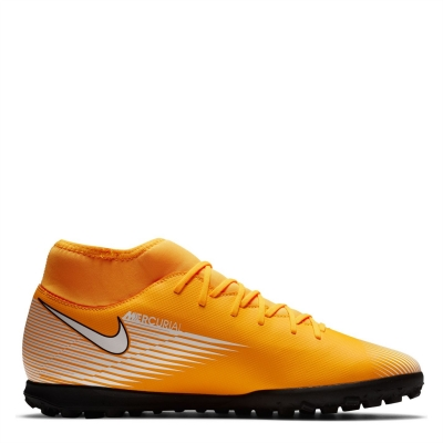 Adidasi Gazon Sintetic Nike Mercurial Superfly Club DF laserorange alb