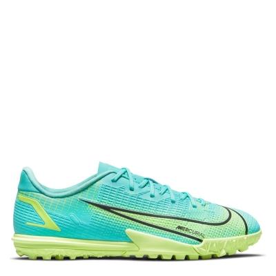 Adidasi Gazon Sintetic Nike Mercurial Vapor Academy pentru copii turcoaz verde lime