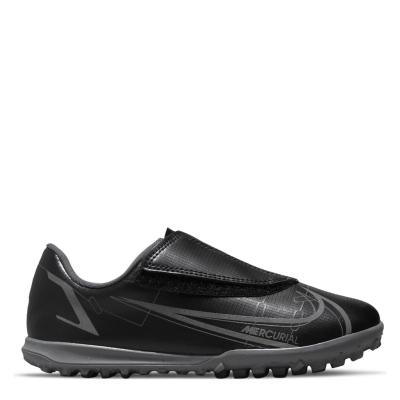 Adidasi Gazon Sintetic Nike Mercurial Vapor Club pentru Copii negru irongrey