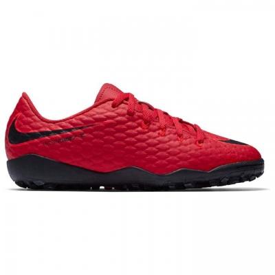 Adidasi Gazon Sintetic Nike Nike Hypervenom 3 Phelon pentru copii rosu