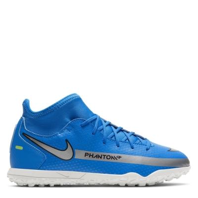 Adidasi Gazon Sintetic Nike Phantom GT Club DF pentru copii photo albastru