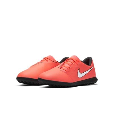 Adidasi Gazon Sintetic Nike Phantom Venom Club pentru copii portocaliu gri inchis