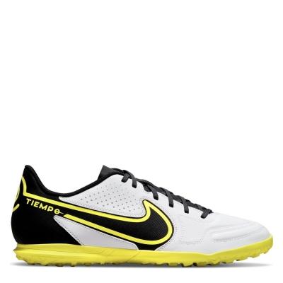 Adidasi Gazon Sintetic Nike Tiempo Legend Club alb negru galben
