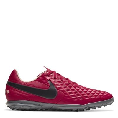 Adidasi Gazon Sintetic Nike Tiempo Legend Club rosu tint