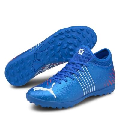 Adidasi Gazon Sintetic Puma Future 4.1 bluemazing rosu