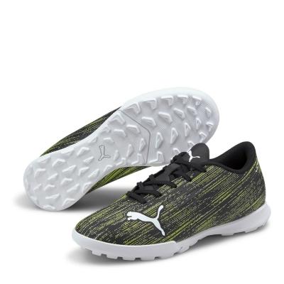 Adidasi Gazon Sintetic Puma Ultra 4.2 pentru Copii negru galben